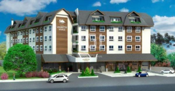 Hotel Laghetto Vivace Canela - Apto 1 Dorm, Centro, Canela (FE4525)